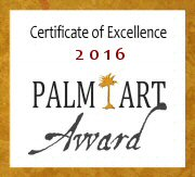 CERTIFICATE of EXCELLENCE PALM ART AWARD 2016