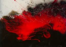Resin Kunst - Stefanie Etter: Größe 100x100 cm